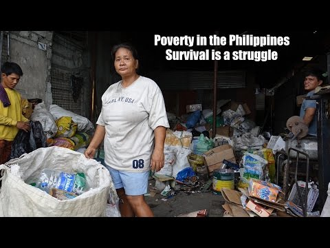 Travel to the Real Philippines: Social and Economic Poverty. Meet FLOR of Quezon City