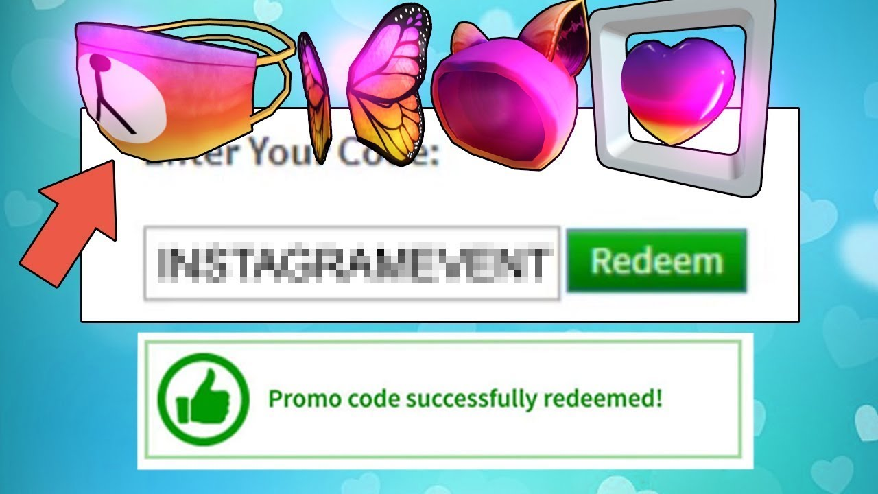 *FEBRUARY* ALL NEW ROBLOX PROMO CODES 2020 | Roblox Promo ... on Promo Code Roblox id=65713