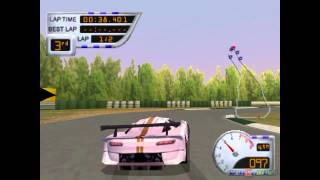 Sports Car GT - Gameplay PSX (PS One) HD 720P (Playstation classics)