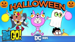 Teen Titans Go! | Halloween is Coming 🎃| DC Kids