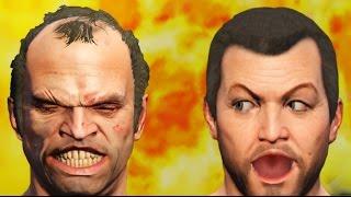 GTA 5 - The Clash Of The Dummies | GTA V Cinematic Skit
