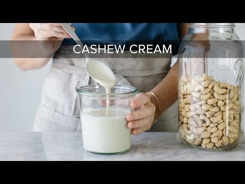 Steps to make Dairy-Free Cashew Cream for Pasta, Queso and much more