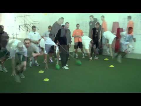 Keith Millard D-Line Clinic at California Strength