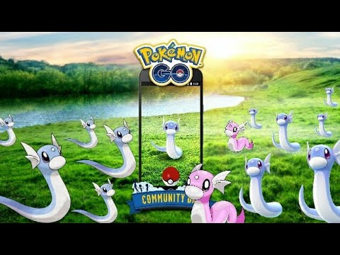 dratini everywhere next community day event pokemon go youtube. Black Bedroom Furniture Sets. Home Design Ideas