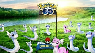 DRATINI EVERYWHERE!! NEXT COMMUNITY DAY EVENT - POKEMON GO