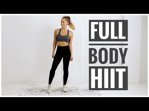 At Home HIIT WORKOUT With Weights