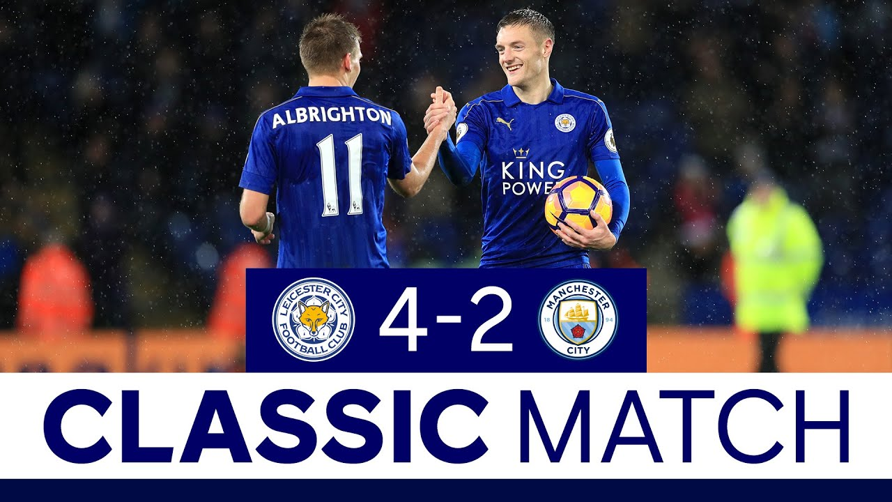 Download Vardy's First Premier League Hat-Trick   Leicester City 4 Manchester City 2   Classic Matches