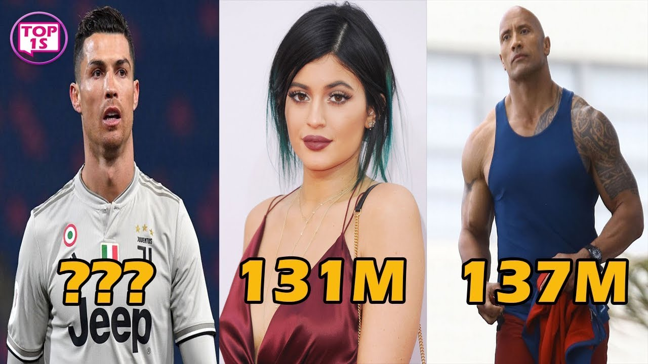 Top 10 Most Instagram Followers in the World of 2019  Most Insta Follower  Top 1s - YouTube