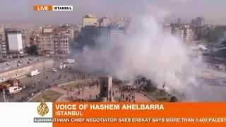 taksim 11 06 2013 Al Jazeera Televizyonundan Yayına Yansıyanlar