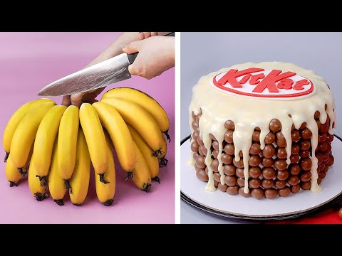 World's Best KITKAT Cake Compilation   My Favorite Chocolate Cake for Lovers   Tasty Plus