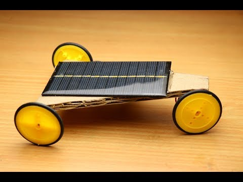 How To Make Solar Car at Home Easy - Free Energy Car