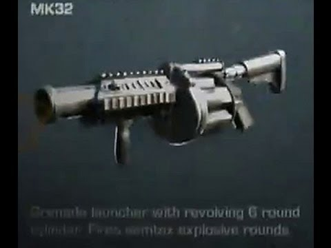 Grenade Launchers In Call Of Duty Ghosts MK32 Kastet
