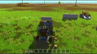 Artificial Intelligence!! Improved Cow Prorotype  ||  Scrap Mechanic  ||