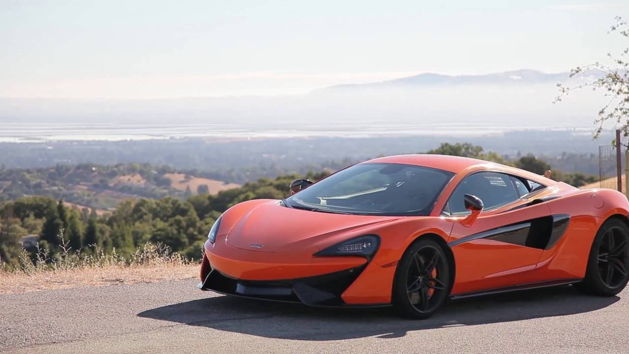 2017 McLaren 570S first drive review