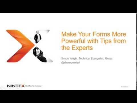 Make Your Forms More Powerful with Tips from Simon Wright