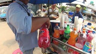 Gambar cover Jakarta Street Food 1025 Part.1  Motorcycler Retailer Fanta Sprite Pepsi BigCola sells Per Cup 5882