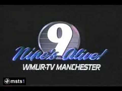 WMUR-TV 9 Manchester NH - Sign-On - 1987