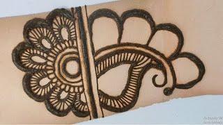 easy arabic mehandi design for front hand | simple henna mehandi designs 2020