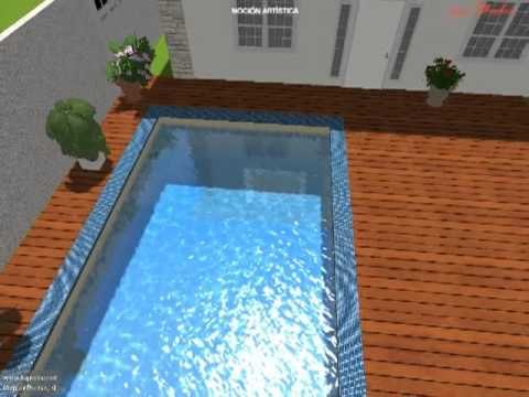 Pool Studio Dise O 3d De Piscina Youtube