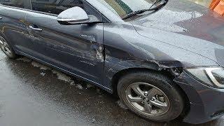 음주운전 주차 뺑소니 사고영상