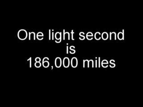 How far is a lightyear?