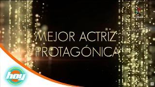 Mejor actriz y actor protagónico | Premios TVyNovelas 2017 | Hoy