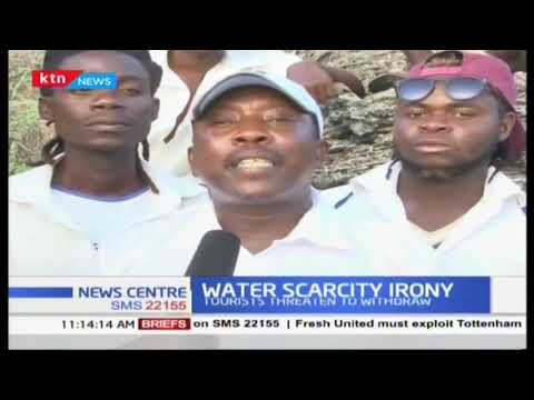 Hoteliers in Kilifili county are accusing water companies of unnecessary water rationing