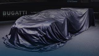Bugatti Vision Gran Turismo Press Conference @IAA2015 Frankfurt