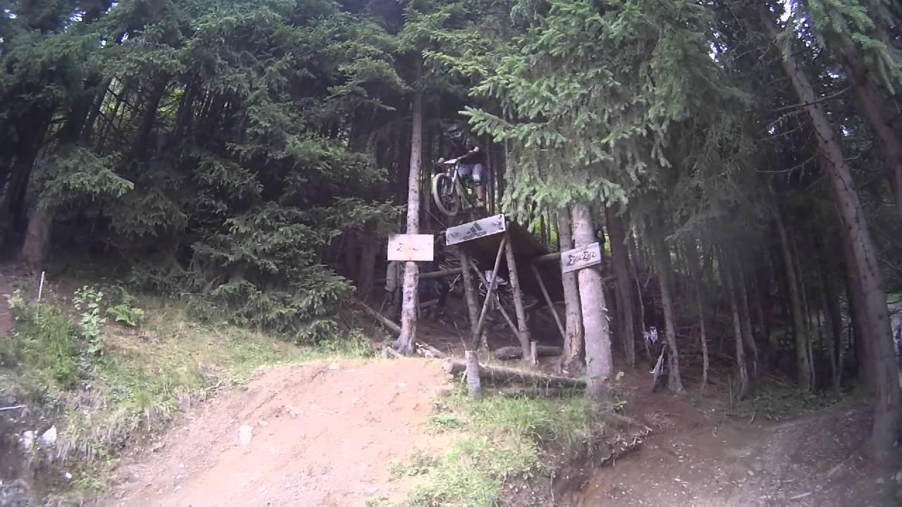 Bikepark Saalbach Adidas Drop Youtube