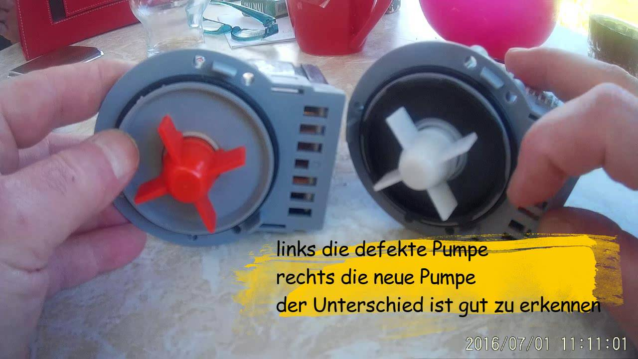 waschmaschine pumpt nicht ab fehler 5e error diy analyse repair youtube. Black Bedroom Furniture Sets. Home Design Ideas