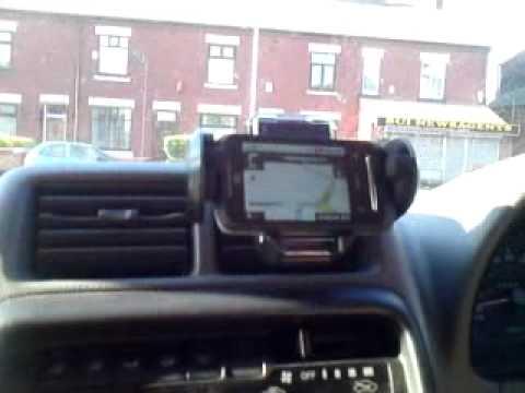 Review of the ZTE Racer using Google Sat Nav