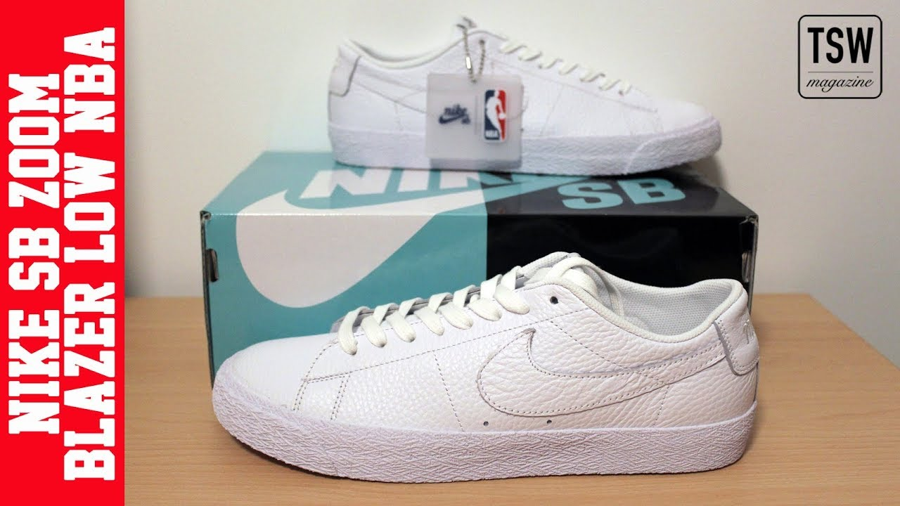 huge selection of 7c4a5 7e18b UNBOXING | NIKE SB ZOOM BLAZER LOW NBA 🤟