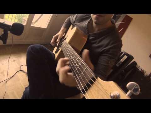 """Guaranteed"" - Hugo Martin - Acoustic Guitar & ""Fingercover"" (Eddie Vedder)"