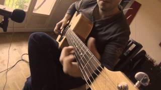 """Guaranteed"" - Hugo Martin - Acoustic Guitar & ""Fingercover"" (Eddie Vedder)"