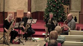 """""""Travels"""" performed by The Toronto Sax Quartet"""