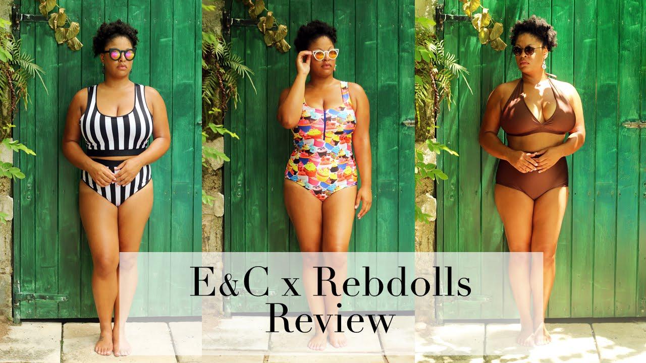 8c2e3148a2 Bikini Lookbook  E C x Rebdolls Review - YouTube