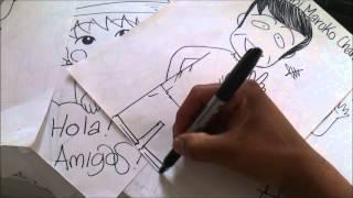 Funny Draw EL PAPA DE CHIBI-MARUKO-CHAN PRETTY x db