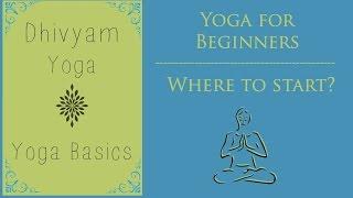 Yoga for beginners   Where to start