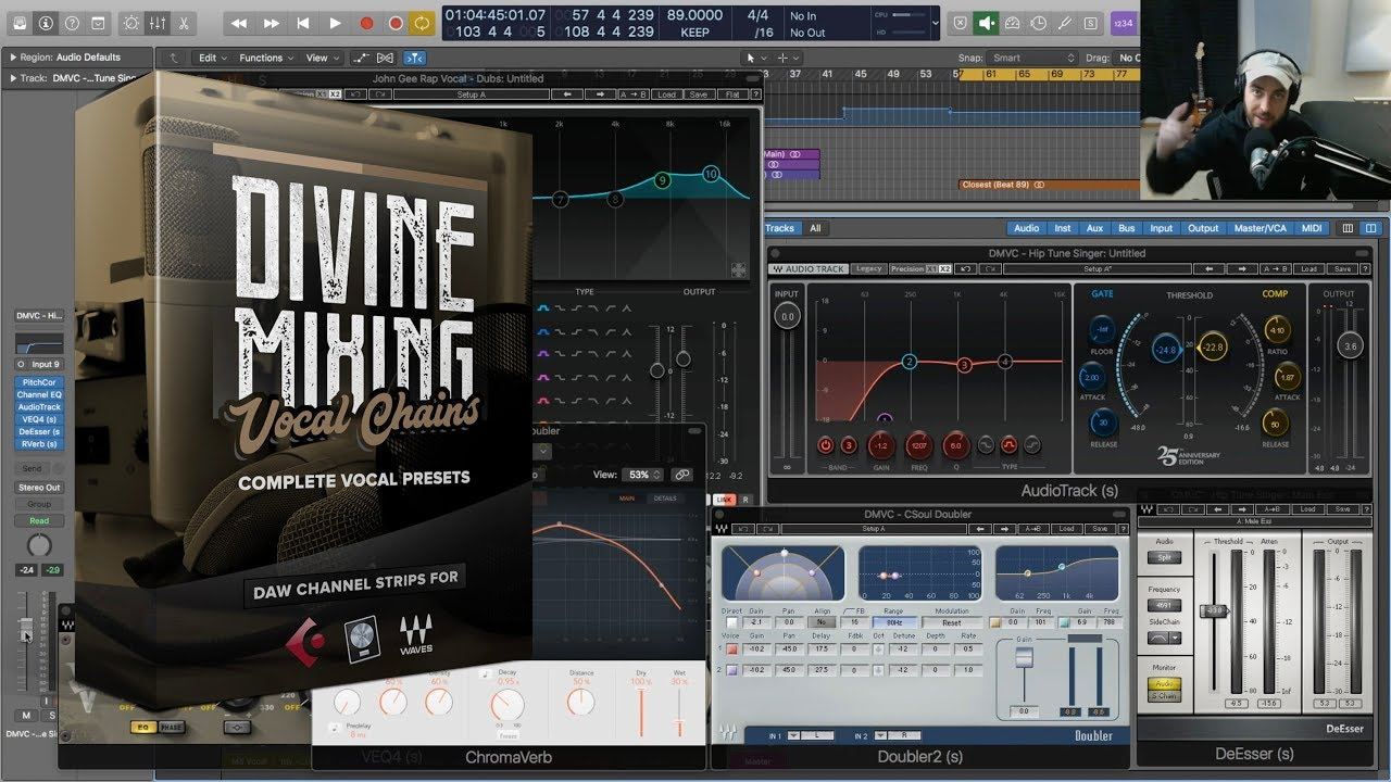 Divine Mixing - Vocal Chains (Vocal Presets for Logic Pro X and Cubase)