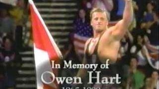 Stone Cold Steve Austin Tributes To Owen Hart @ RAW is WAR