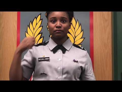 How to wear the Army JROTC Female Class B uniform (w/ and w/out windbreaker)