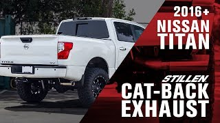 homepage tile video photo for Nissan Titan STILLEN Cat Back Exhaust Product Review