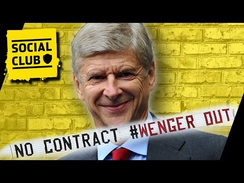 WENGER TO SIGN ONE YEAR CONTRACT EXTENSION   SOCIAL CLUB