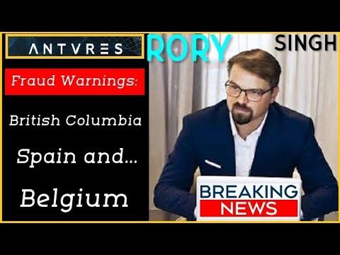 Antares Trade Investor Fraud Warnings: British Columbia, Spain and Belgium Securities Regulators