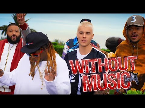 Dj Khaled & Justin Bieber - Without Music - I'm The One
