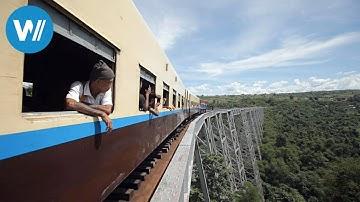 Myanmar - Per Zug durch die Zeit (360° - GEO Reportage)