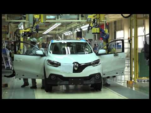Renault Kadjar assembly in Wuhan, China