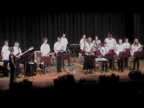 Die Big Band des Frankenwald-Gymnasiums Kronach