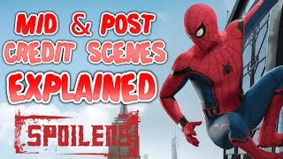 Mid and Post Credit Scenes Explained (SPOILERS) - Spider-Man: Homecoming