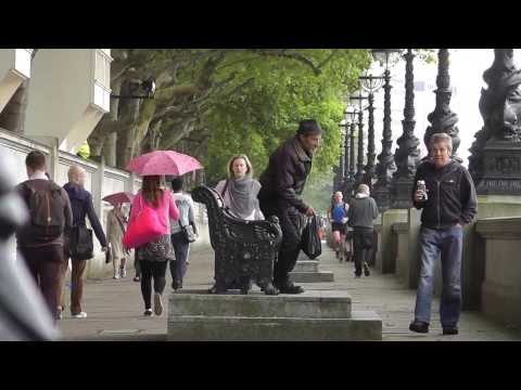 Blair Victoria Hotel-Thames walk to the London Shard-Part 1